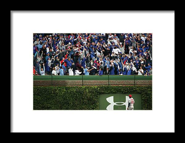St. Louis Cardinals Framed Print featuring the photograph Anthony Rizzo and Jason Heyward by Jonathan Daniel