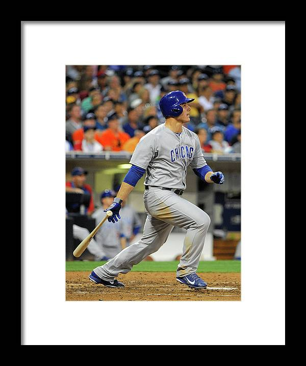California Framed Print featuring the photograph Anthony Rizzo by Denis Poroy