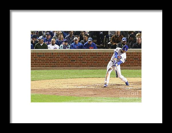 People Framed Print featuring the photograph Anthony Rizzo by Dylan Buell