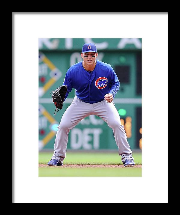 Pnc Park Framed Print featuring the photograph Anthony Rizzo by Joe Sargent