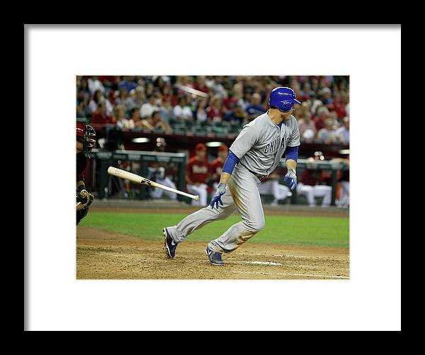 Animal Framed Print featuring the photograph Anthony Rizzo by Ralph Freso
