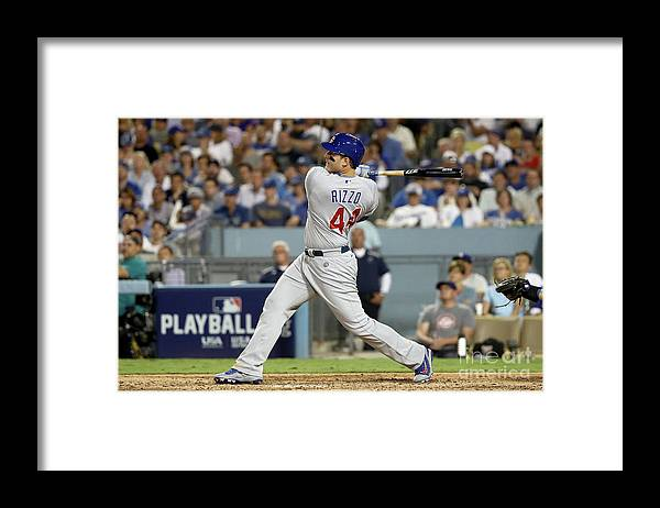 People Framed Print featuring the photograph Anthony Rizzo by Sean M. Haffey