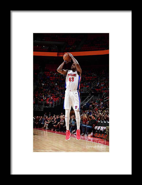 Nba Pro Basketball Framed Print featuring the photograph Anthony Tolliver by Chris Schwegler
