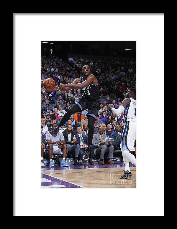 Nba Pro Basketball Framed Print featuring the photograph Anthony Tolliver by Rocky Widner