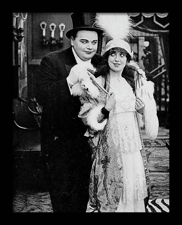 ARBUCKLE AND MABEL NORMAND - The Movies Come From America  by Artworkzee Designs