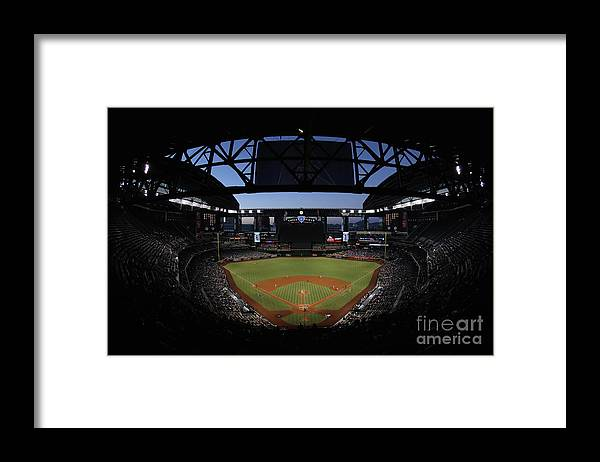 People Framed Print featuring the photograph Archie Bradley by Christian Petersen