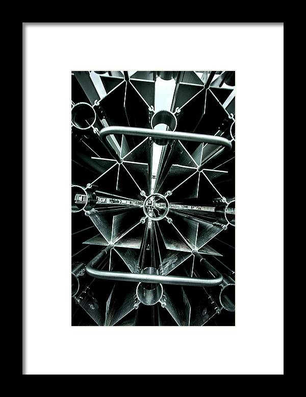 Material Framed Print featuring the photograph Architecture by Dan Reynolds Photography
