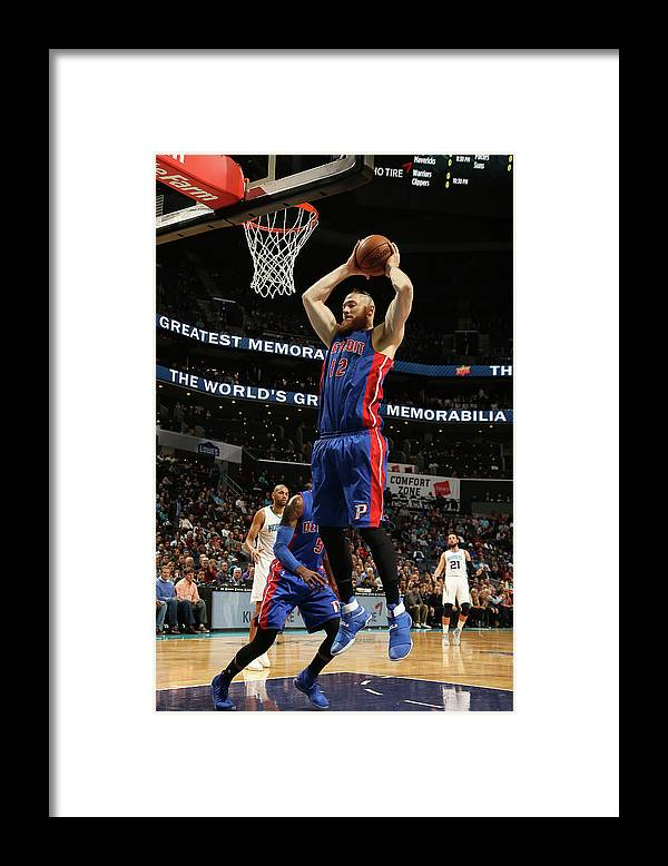 Nba Pro Basketball Framed Print featuring the photograph Aron Baynes by Kent Smith