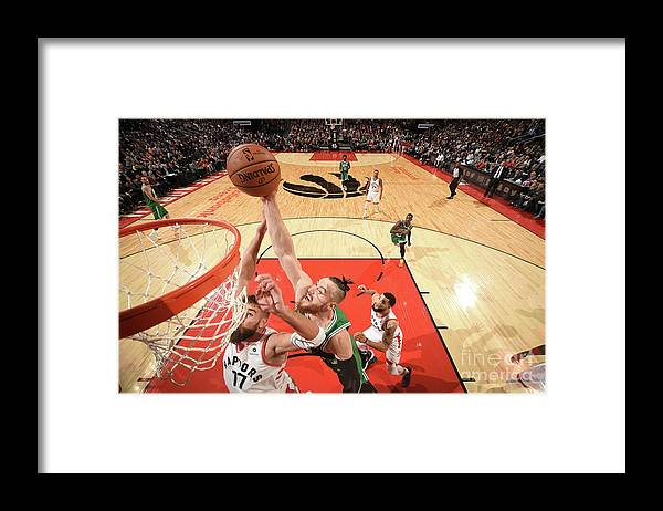 Nba Pro Basketball Framed Print featuring the photograph Aron Baynes by Ron Turenne
