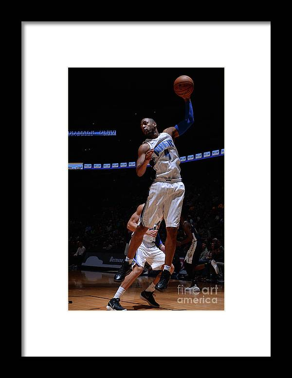 Nba Pro Basketball Framed Print featuring the photograph Arron Afflalo by Bart Young
