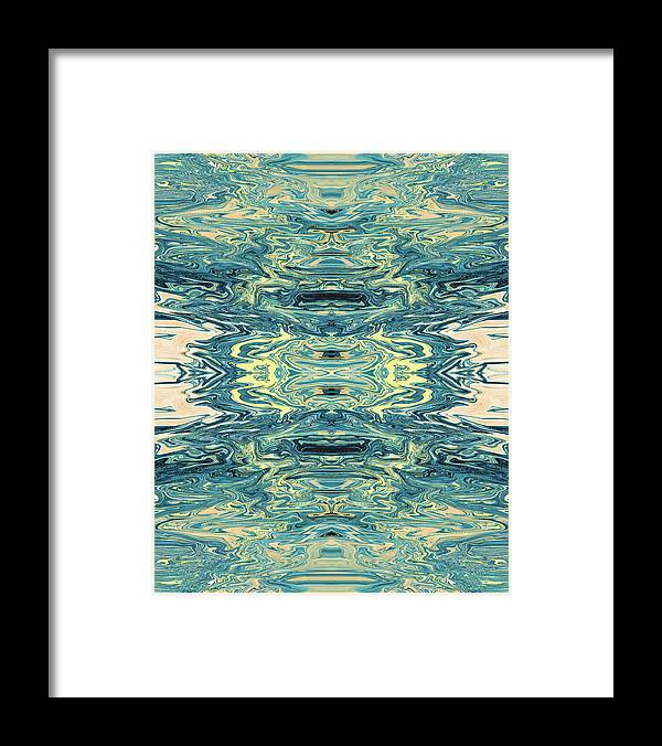 Abstract Framed Print featuring the digital art Arrows of Aura by Jack Entropy