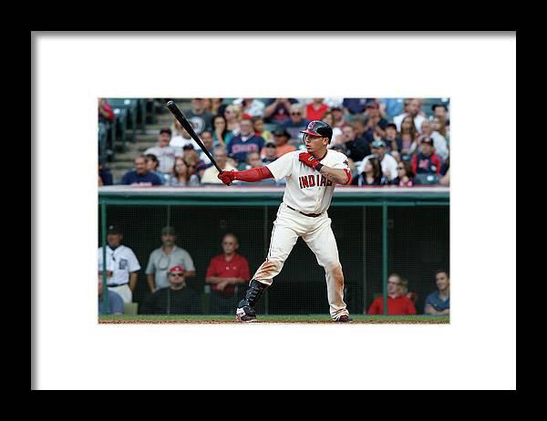 American League Baseball Framed Print featuring the photograph Asdrubal Cabrera by David Maxwell