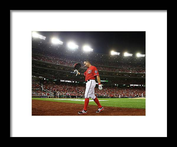 Ninth Inning Framed Print featuring the photograph Asdrubal Cabrera by Elsa