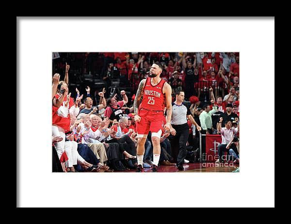 Playoffs Framed Print featuring the photograph Austin Rivers by Andrew D. Bernstein