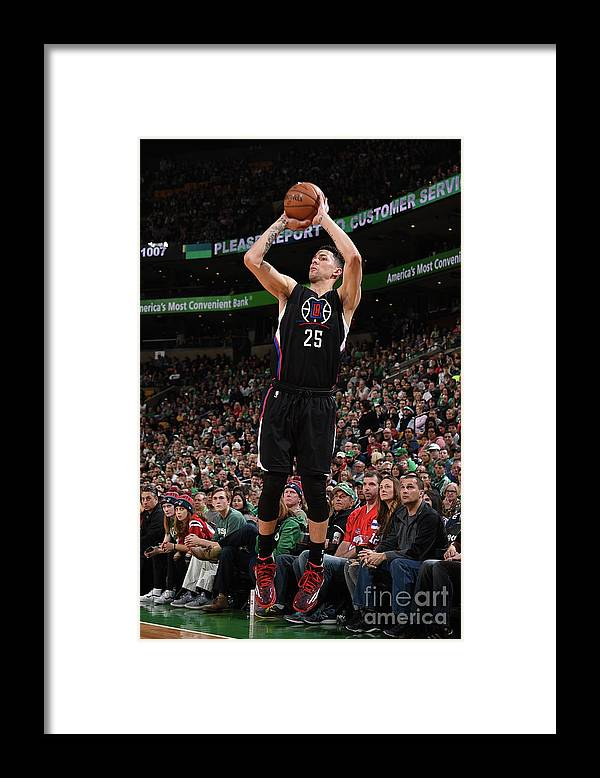 Nba Pro Basketball Framed Print featuring the photograph Austin Rivers by Brian Babineau