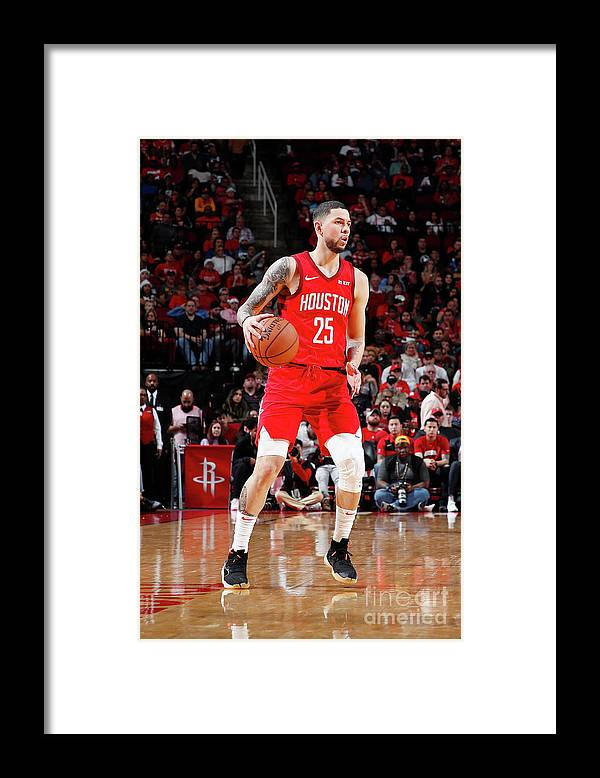 Nba Pro Basketball Framed Print featuring the photograph Austin Rivers by Jeff Haynes