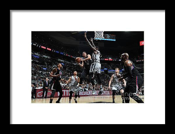 Nba Pro Basketball Framed Print featuring the photograph Austin Rivers by Mark Sobhani