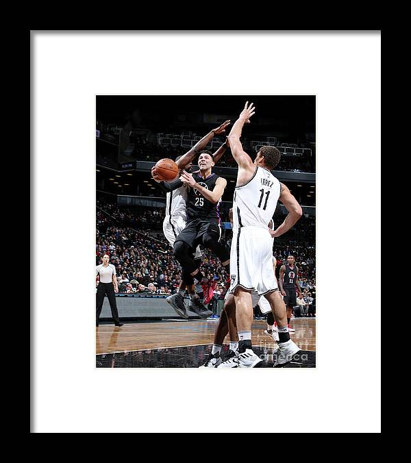 Nba Pro Basketball Framed Print featuring the photograph Austin Rivers by Nathaniel S. Butler