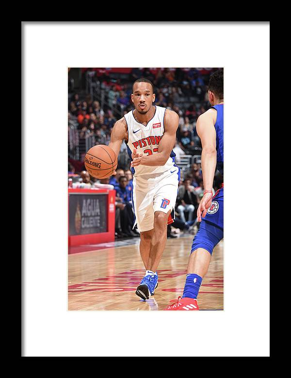 Nba Pro Basketball Framed Print featuring the photograph Avery Bradley by Andrew D. Bernstein