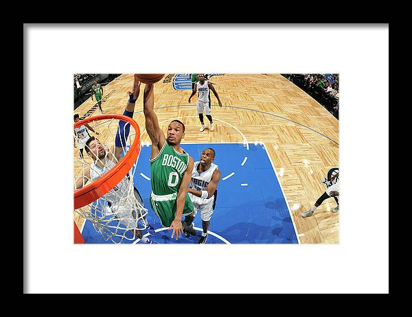 Nba Pro Basketball Framed Print featuring the photograph Avery Bradley by Fernando Medina