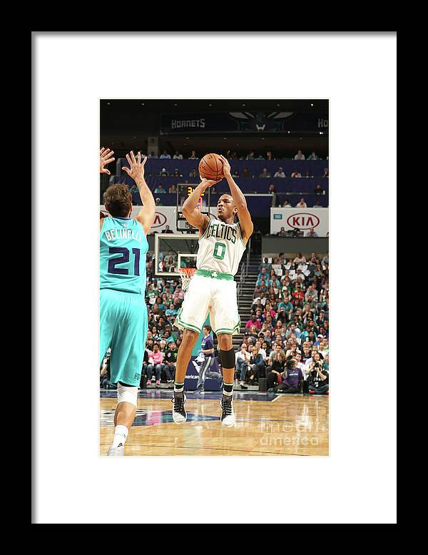 Nba Pro Basketball Framed Print featuring the photograph Avery Bradley by Kent Smith