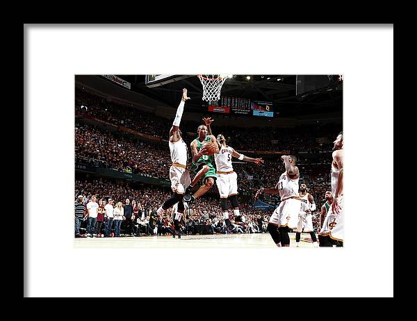 Playoffs Framed Print featuring the photograph Avery Bradley by Nathaniel S. Butler
