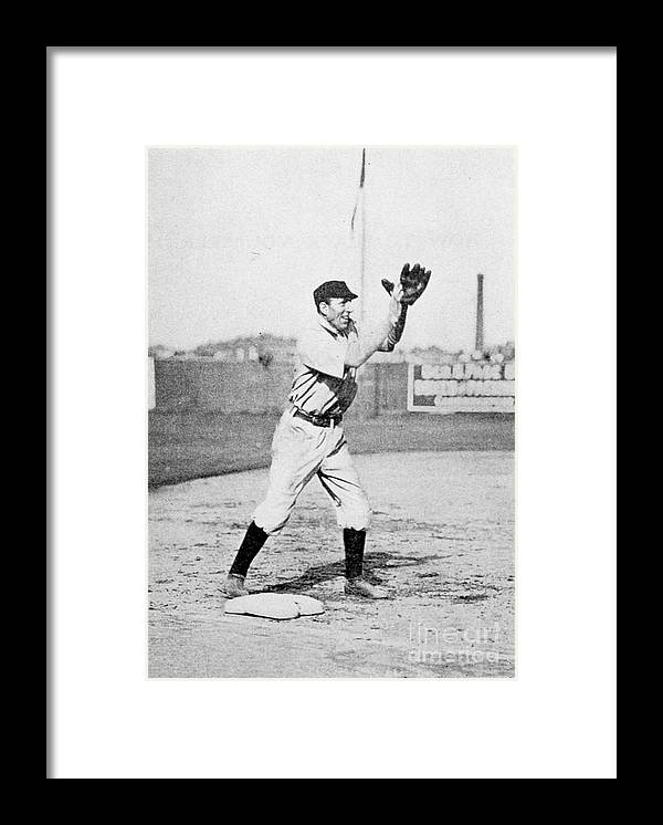 People Framed Print featuring the photograph Babe Ruth by Transcendental Graphics