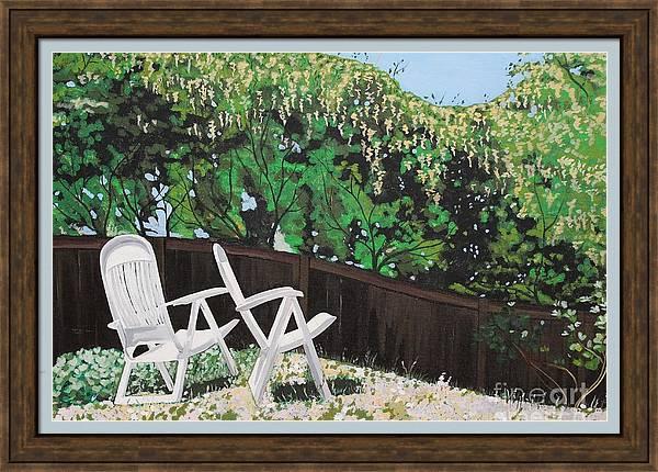 Backyard Oasis by Sara Tafere Barnes