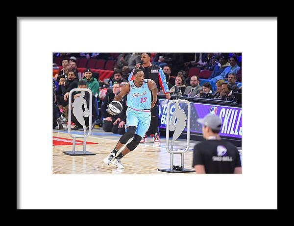 Nba Pro Basketball Framed Print featuring the photograph Bam Adebayo by Bill Baptist