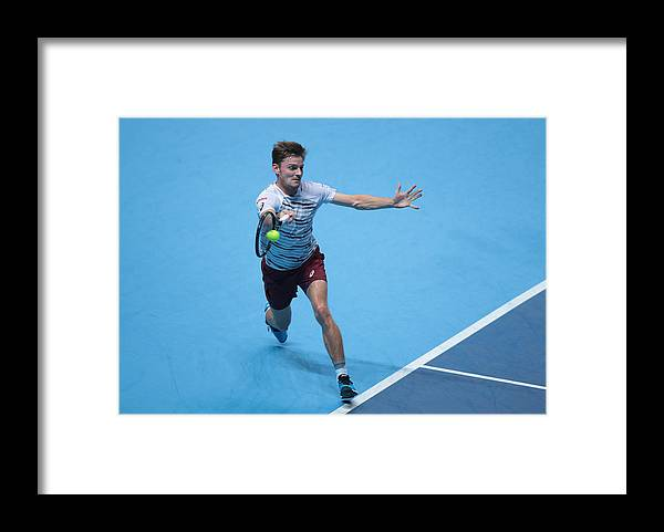 Barclays Framed Print featuring the photograph Barclays ATP World Tour Finals 2016 by NurPhoto