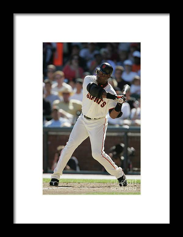 San Francisco Framed Print featuring the photograph Barry Bonds by Brad Mangin