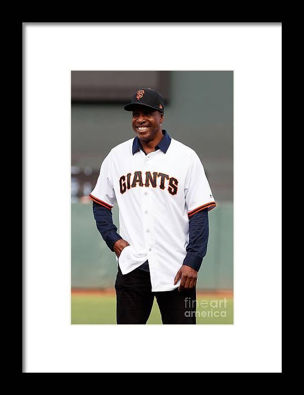 San Francisco Framed Print featuring the photograph Barry Bonds by Jason O. Watson