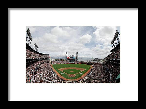 San Francisco Framed Print featuring the photograph Barry Zito by Ezra Shaw