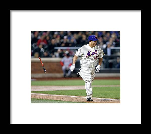People Framed Print featuring the photograph Bartolo Colon by Elsa