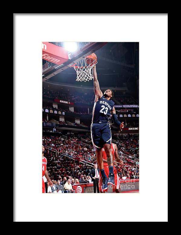 Nba Pro Basketball Framed Print featuring the photograph Ben Mclemore by Bill Baptist