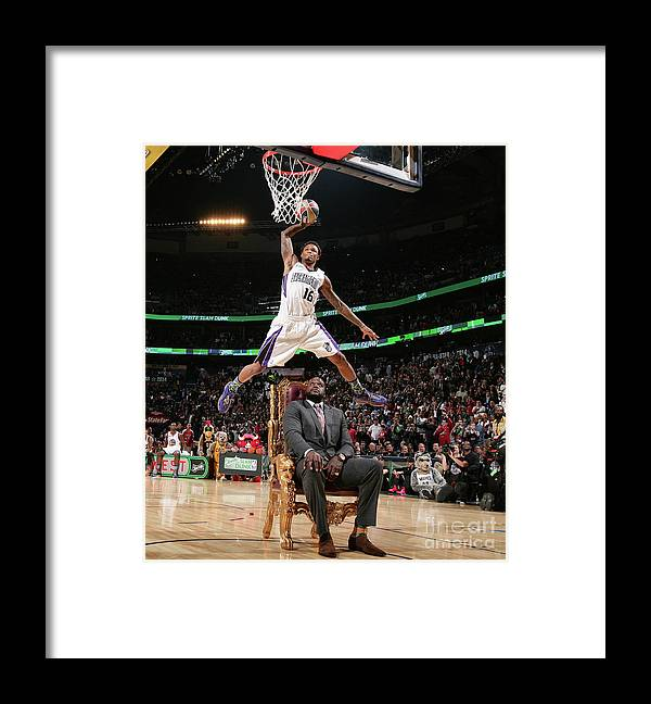 Nba Pro Basketball Framed Print featuring the photograph Ben Mclemore by Nathaniel S. Butler