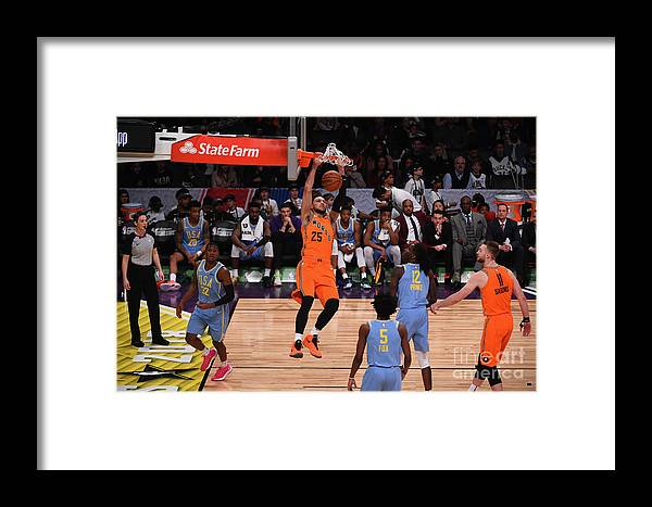 Event Framed Print featuring the photograph Ben Simmons by Noah Graham