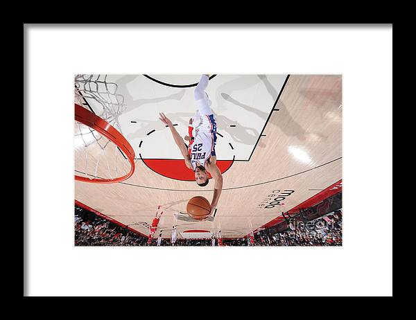 Nba Pro Basketball Framed Print featuring the photograph Ben Simmons by Sam Forencich