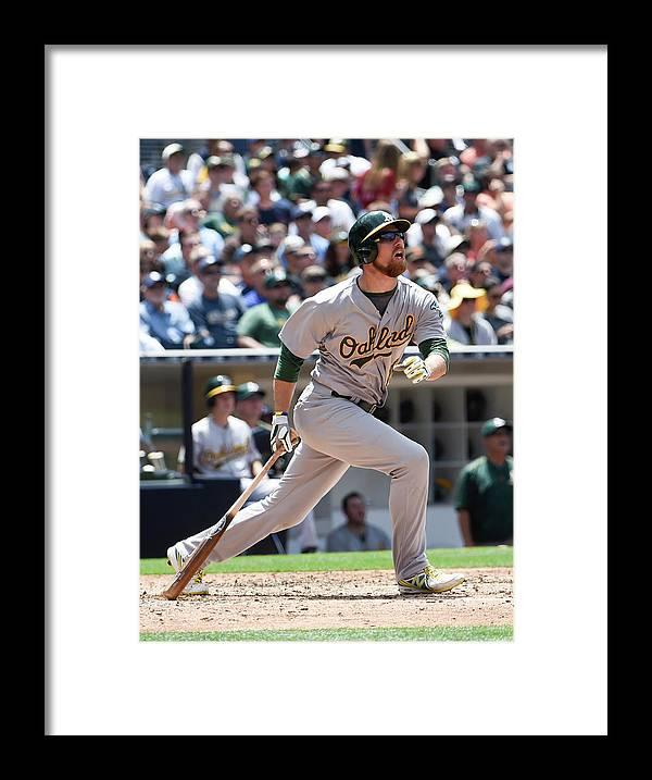 People Framed Print featuring the photograph Ben Zobrist by Denis Poroy