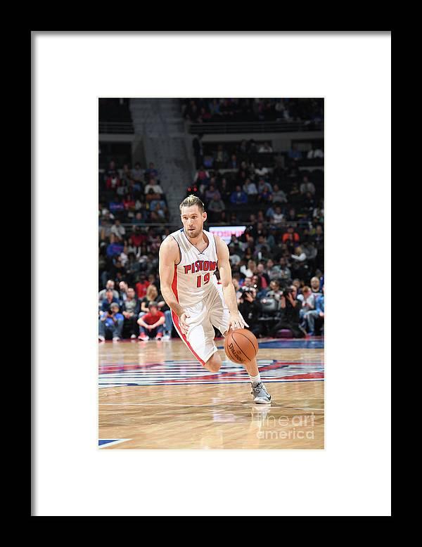 Nba Pro Basketball Framed Print featuring the photograph Beno Udrih by Chris Schwegler
