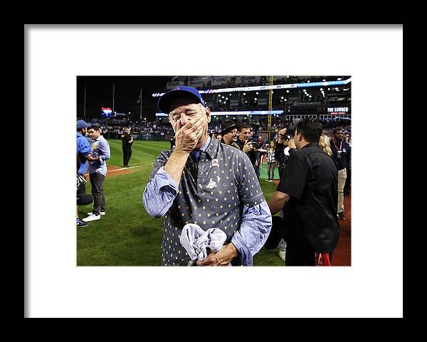 People Framed Print featuring the photograph Bill Murray by Ezra Shaw