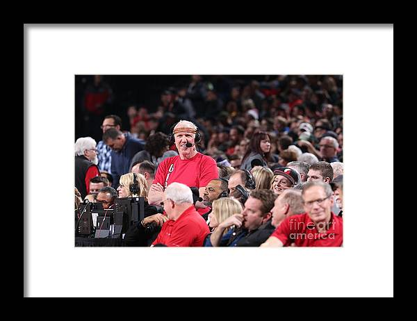 Nba Pro Basketball Framed Print featuring the photograph Bill Walton by Sam Forencich