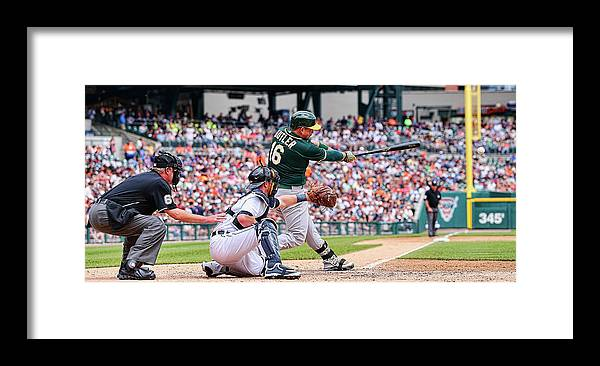 People Framed Print featuring the photograph Billy Burns and Billy Butler by Leon Halip