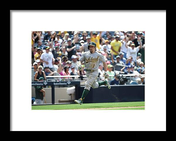 Ninth Inning Framed Print featuring the photograph Billy Burns by Denis Poroy
