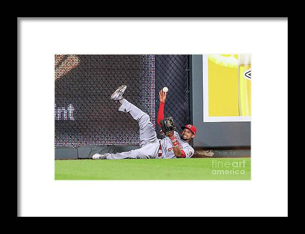 Ninth Inning Framed Print featuring the photograph Billy Hamilton by Brian Davidson