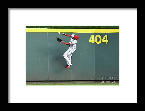 Great American Ball Park Framed Print featuring the photograph Billy Hamilton by Jamie Sabau