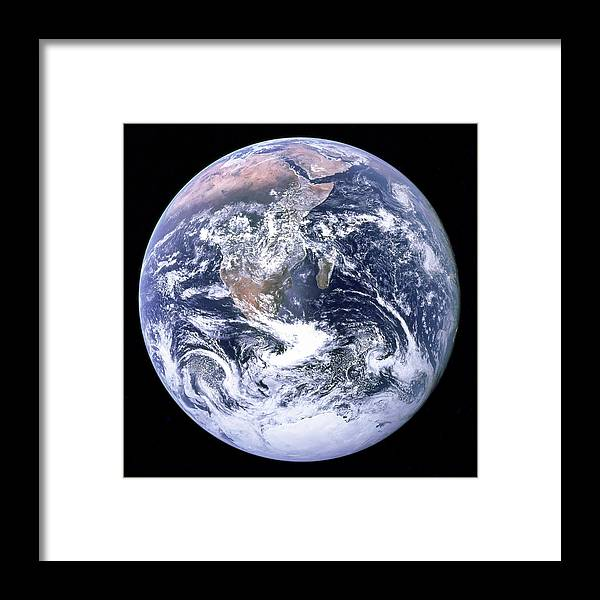 Blue Marble - Image of the Earth from Apollo 17 by Nasa
