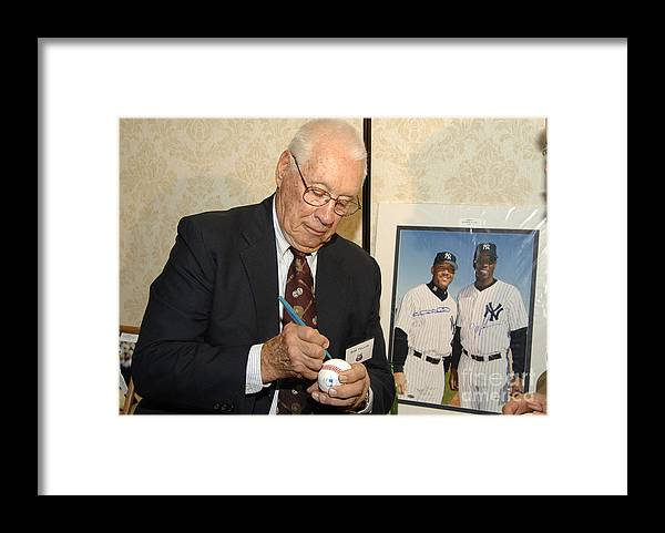 Cleveland Indians Framed Print featuring the photograph Bob Hall by E. Dougherty
