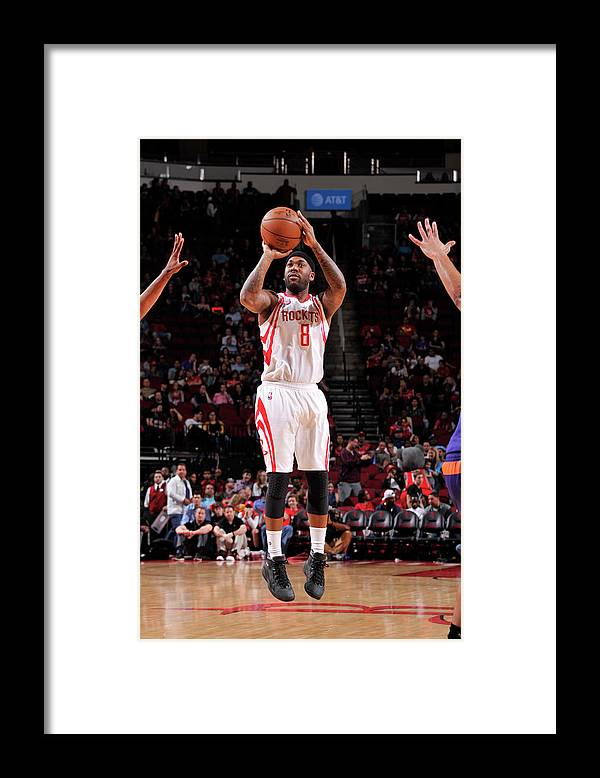 Nba Pro Basketball Framed Print featuring the photograph Bobby Brown by Bill Baptist