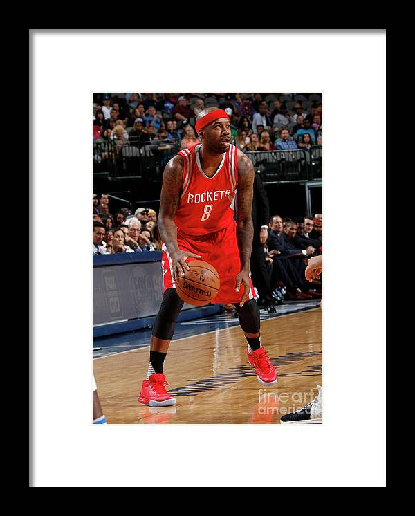 Nba Pro Basketball Framed Print featuring the photograph Bobby Brown by Glenn James